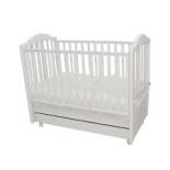 детская кроватка Mibb Tender Bianco белая