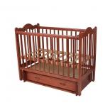 детская кроватка Счастливый малыш Дюймовочка Тик