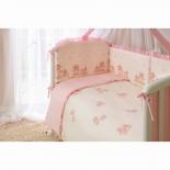 аксессуар к детской кроватке Perina Тиффани Неженка КПБ 3 предмета розовый