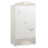 мебель компьютерная Mibb Stella, шкаф для детской комнаты, бело-бежевый