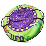 санки надувные Small Rider Cosmic Zoo UFO Зелёный динозаврик