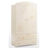 мебель компьютерная Mibb Armadio Fantasia Avorio, шкаф для детской комнаты