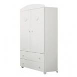 мебель компьютерная Mibb Cuore Bianco, шкаф для детской комнаты