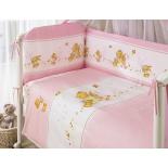 аксессуар к детской кроватке Perina КПБ Фея Лето 3 предмета розовый