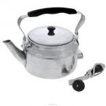 чайник электрический Эрг Ал ЭЧ 2, серебристый