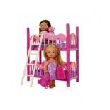 кукла Simba Еви (близняшки) с кроваткой