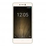 смартфон BQ Aquaris U Lite 2/16Gb, золотистый / белый