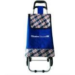 сумка-тележка Master House JX-В2 Юнга, синяя