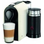 Кофемашина Krups XN 2601 Nespresso U & Milk, бело-чёрная