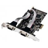 контроллер (плата расширения для ПК) COM+LPT (4 внеш. 9pin+ LPT) ST-Lab I-461 (PCI-E)