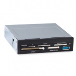 устройство для чтения карт памяти Ginzzu GR-156UBn (USB 3.0), чёрный