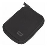 корпус для жесткого диска Чехол WD WDBABK0000NBK-ERSN для HDD, черный неопрен