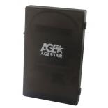 корпус для жесткого диска AgeStar SUBCP1 для 2.5''HDD, USB2.0 - SATA, чёрный