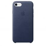 чехол iphone Apple MMWK2ZM/A для Apple iPhone 7 силикон темно-синий
