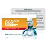 программа-антивирус ESET NOD32 Smart Security (на 3 ПК, универсальная лицензия, ключ-карта)