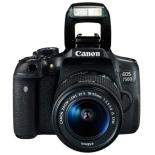 Цифровой фотоаппарат Canon EOS 750D 18-55 IS STM + 50mm STM, Черный, купить за 57 365руб.