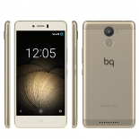 смартфон BQ Aquaris U Plus 2/16 Gb, золотистый/белый