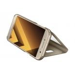 чехол для смартфона Samsung для Samsung Galaxy A7 (2017) S View Standing Cover, золотистый