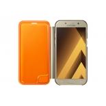 чехол для смартфона Samsung для Samsung Galaxy A5 (2017) Neon Flip Cover, золотистый