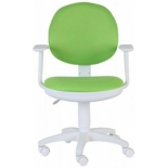 компьютерное кресло Бюрократ CH-W356AXSN/15-118 зелёный/белый
