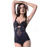 Корректирующее белье Gezatone Slim'n'Shape Diamond Bodysuit (комбидрес), Черное, купить за 3 490руб.