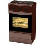 плита Terra GS 5203 Br, коричневая