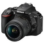 цифровой фотоаппарат Nikon D5600 Kit (AF-P 18-55 VR), зеркальный
