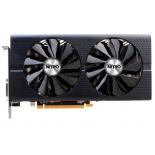 видеокарта Radeon Sapphire Nitro+ Radeon RX 480 1208Mhz PCI-E 3.0 4096Mb 7000Mhz 256 bit DVI 2xHDMI HDCP, 11260-02-20G
