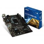 материнская плата MSI B250M PRO-VD (mATX, LGA1151, Intel B250, 2x DDR4)