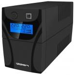источник бесперебойного питания Ippon Back Power Pro LCD 700, черный