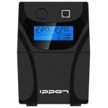 источник бесперебойного питания Ippon Back Power Pro LCD 500 (300 Вт, 500ВА), чёрный