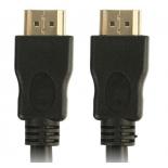 кабель (шнур) TV-COM CG150S-1.5M (HDMI M-M, v1.4, 1.5 м), чёрный