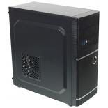 корпус компьютерный Accord A-301B (без БП), черный