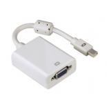 кабель (шнур) Hama mini DisplayPort(m) - VGA(f), H-53247, белый