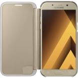 чехол для смартфона Samsung Galaxy A5 (2017) Clear View Cover, золотистый