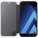 чехол для смартфона Samsung Galaxy A7 (2017) Clear View Cover, черный