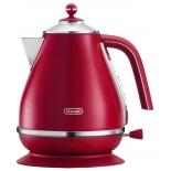 чайник электрический De Longhi KBOE2001.R, красный