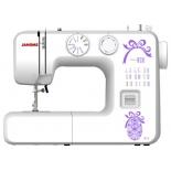Швейная машина Janome 812, белая с фиолетовым