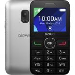сотовый телефон Alcatel 2008G, серебристый