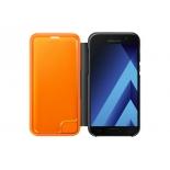 чехол для смартфона Samsung для Samsung Galaxy A5 (2017) Neon Flip Cover, черный