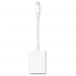 кабель / переходник Apple Lightning to SD Card Camera Reader белый