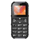 сотовый телефон Vertex C307, черно-серебристый