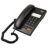 проводной телефон Ritmix RT-330, черный