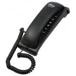 проводной телефон Ritmix RT-007, черный