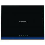 роутер WiFi Netgear D6200-100PES, черный