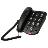 проводной телефон Ritmix RT-520, черный