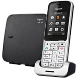 радиотелефон Gigaset SL450, серебристый/черный