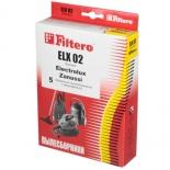 аксессуар к бытовой технике Filtero ELX 02 Standard, комплект пылесборников