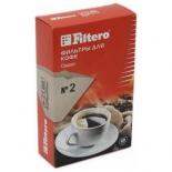 аксессуар к бытовой технике Фильтр Filtero №2 (для кофеварок) коричневый