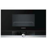 микроволновая печь Siemens BE634RGS1, серебристо-черная